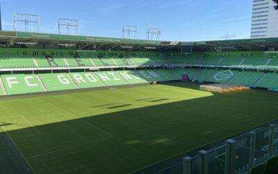 Trotse sponsor van FC Groningen